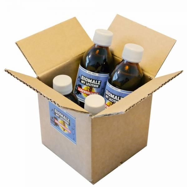 BIOMALZ mit Lecithin | DE-ÖKO-001 | 275 g Flaschen | 4er Karton