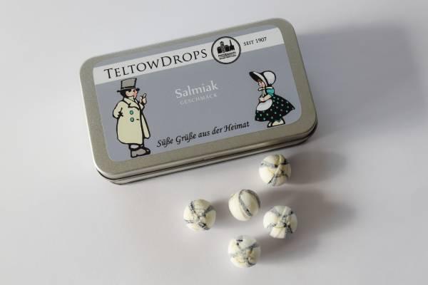 TeltowDrops | Salmiak Bonbons | 80 g Dose