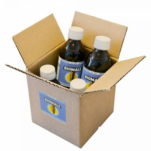 BIOMALZ natur | DE-ÖKO-001 | 275 g Flasche | 4er Karton