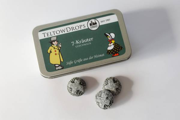 TeltowDrops | Kräuter Bonbons | 90 g Dose