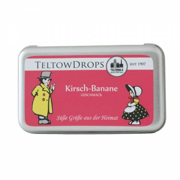 TeltowDrops   Kirsch-Banane Bonbons   90 g Dose